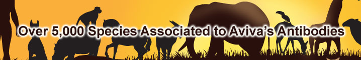 Aviva New Species Reactivity Data banner